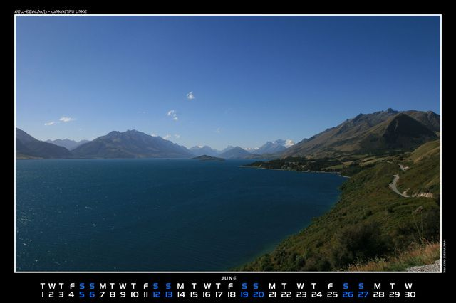 New-Zealand, Wakatipu lake